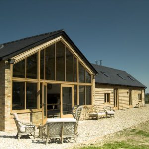 Barn conversion design by Ely Design Group.