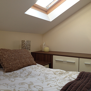 Roof light in newly designed lost conversion.