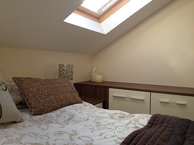 Interior detail of loft conversion by Ely Design Group