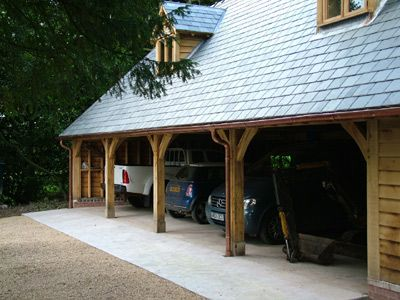 designed open garaging by ely design group