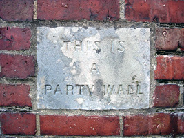 Building owners party wall